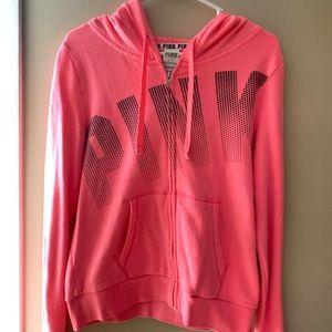 pink Vs PINK full zip sweatshirt